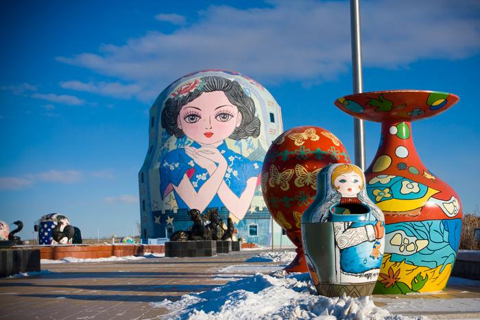 Маньчжурия. Парк китайско-российской дружбы