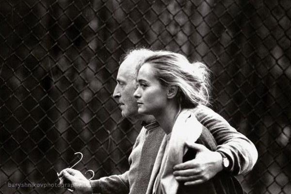 Иосиф Бродский и его жена Мария. Фото М.Барышникова