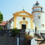 Старинный португальский маяк