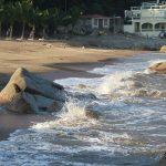 Один из двух пляжей в Макао