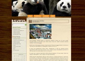 Sadpanda.cn - блог о Китае