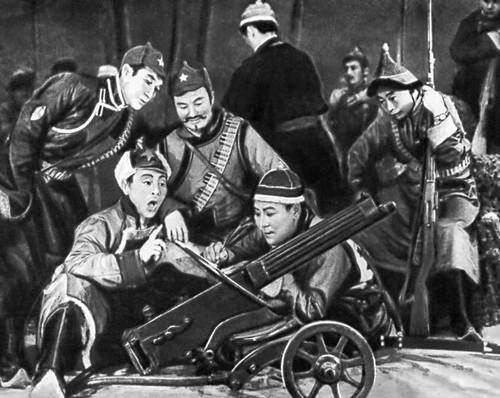 Монгольская Народная Республика. Опера «Шивэ Кяхта» («Взятие крепости Кяхта»), 1971