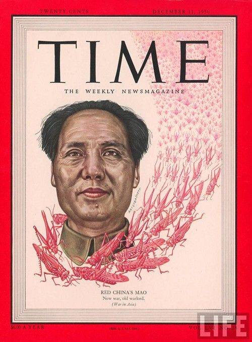 "Time Magazine – December 11, 1950 – ""New war, old warlord."""