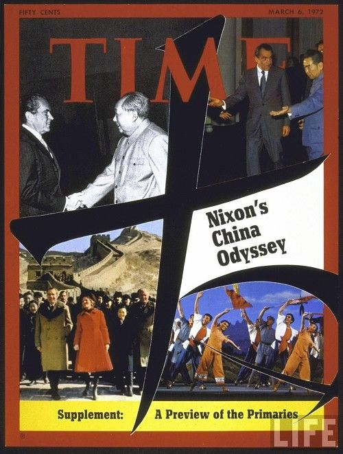 "Time Magazine – March 6, 1972 – ""Nixon's China Odyssey"""