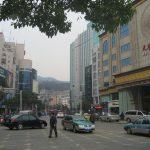 Центральная улица области Путо
