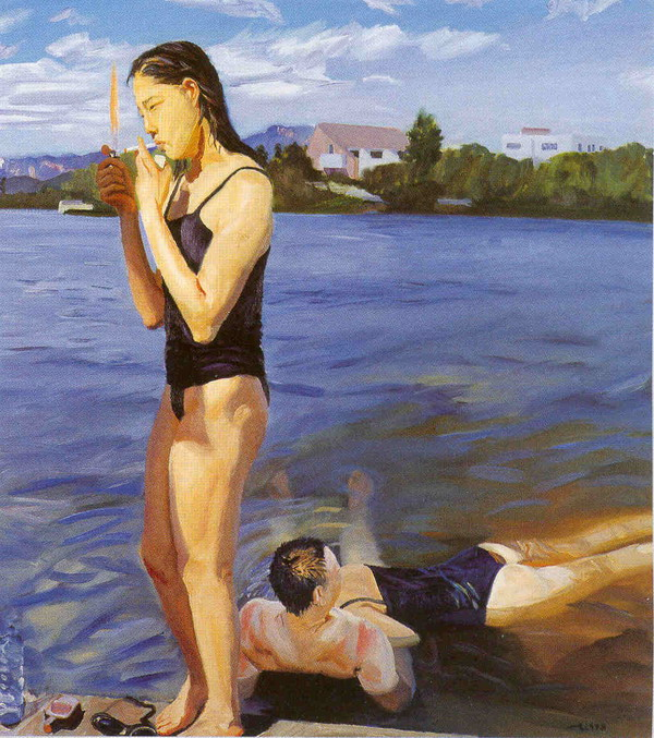 liuxiaodong resize smoking on the water 1991