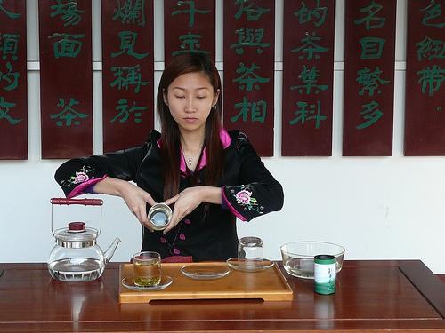 Чайное надувательство в Шанхае