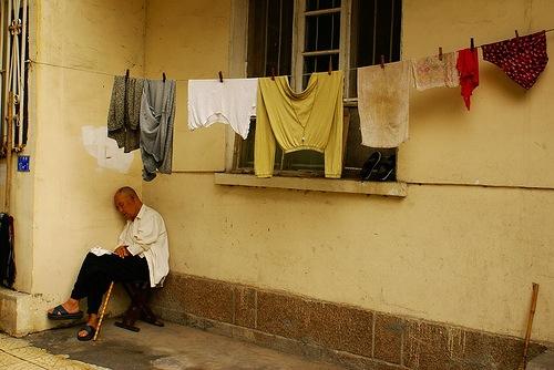 Китайские старики / Фото: Елена Килина / Магазета