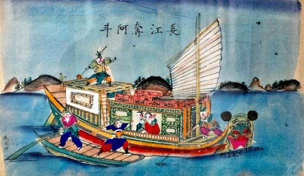 На реке Янцзы отнимают младенца А Доу