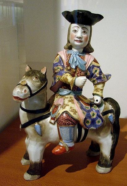 Китайский фарфор, II половина 18 века. Цин. Лаовай.