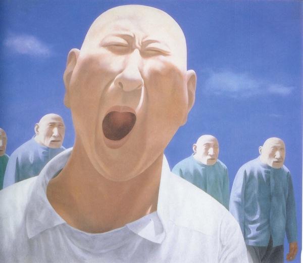 fang lijun / Китайские художники в Магазете