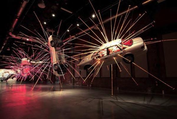 Цай Гоцян / Китайские художники в Магазете