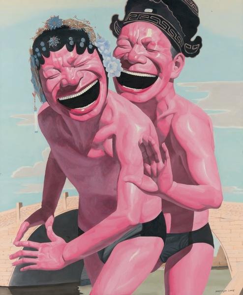 yueminjun-lovers / Китайские художники в Магазете
