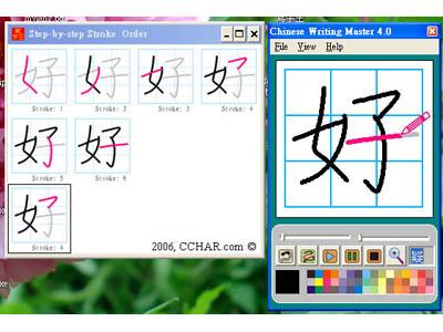Chinese Writing Master v4.0 / программы по китайскому языку в Магазете