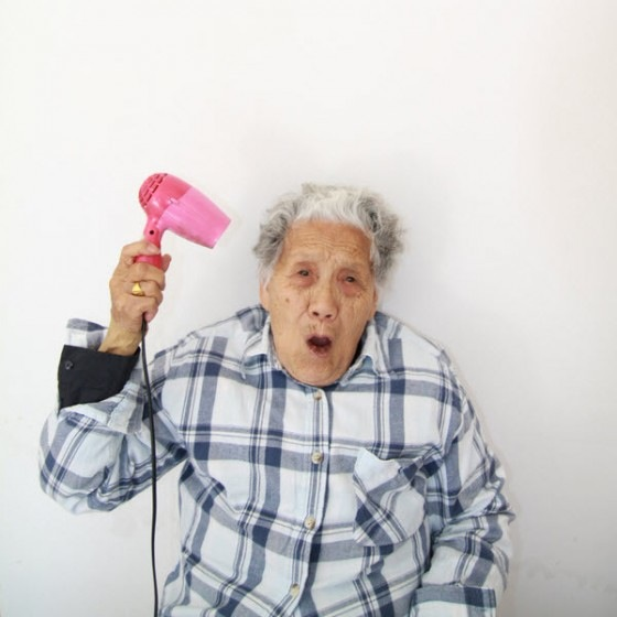 Сумасшедшая китайская бабушка / Фотографии / Магазета