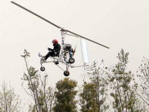 Китайская экспансия на dirty.ru: самодельный вертолёт