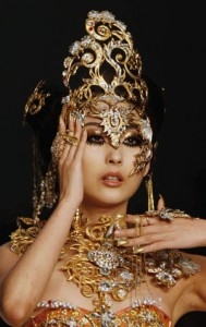 Психоделика китайского дизайна / Китайская мода / Магазета