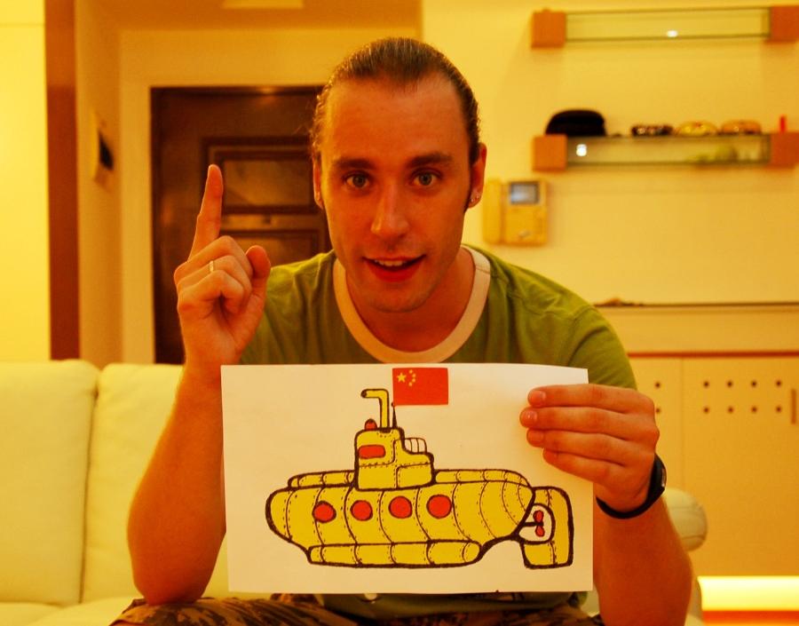 ригорий Потемкин, Китай - это подводная лодка