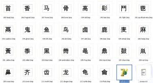 Программа по китайскому языку Chinese Radicals в Магазете
