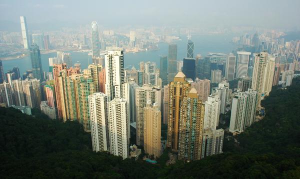 Вид на Гонконг с Пика Виктория