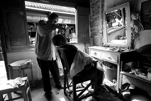90 дней в Китае: Парикмахерская. Три раза моем голову / Магазета