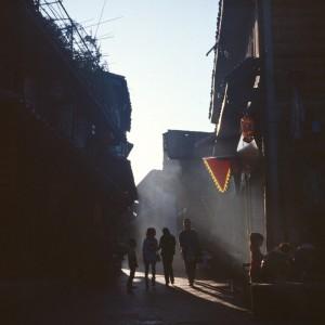 Силуэты в Цинъяне.