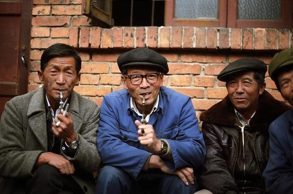 Китайские курильщики