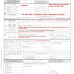 Application for Funds Transfer Overseas