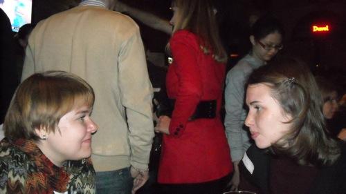Анна Потапова и Ольга Мерёкина / Встреча читателей Магазеты