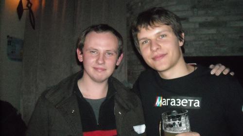 Игорь Oldboy и Ма