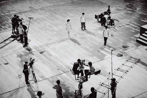 "Ян Фудун ""Пятая ночь"". Видеоинсталляция. 2010"