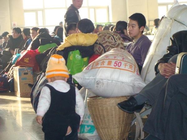 Вокзал / «Весенний Ток»: 春运 в Китае. Магазета