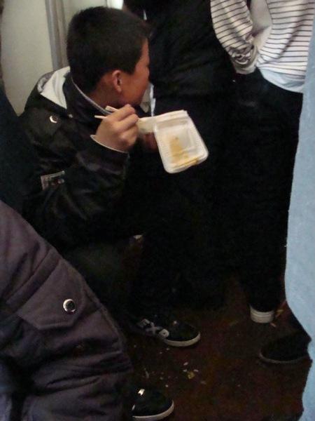 Обед / В вагоне китайского поезда