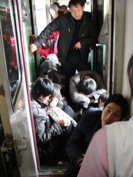 В вагоне китайского поезда / Магазета