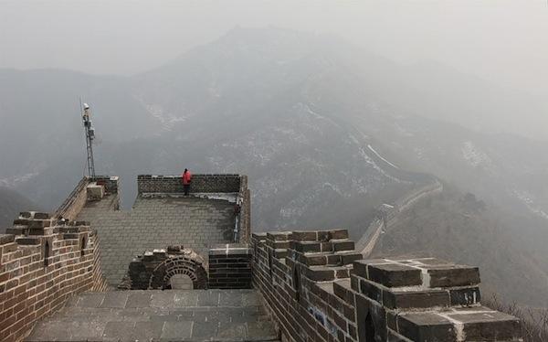 Не туристическая Великая Китайская Стена / Магазета