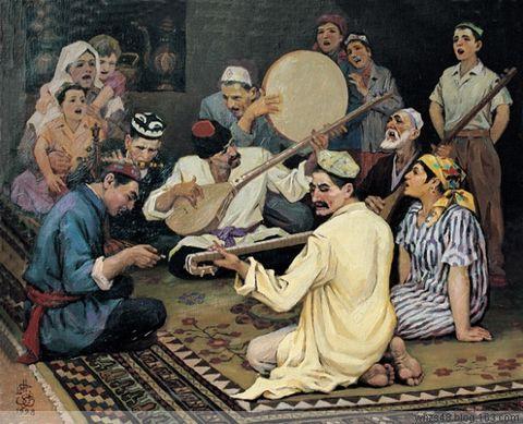 Двенадцать уйгурских мукамов
