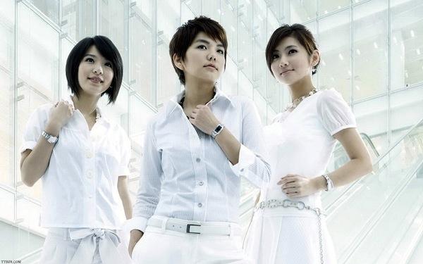 Китайская группа S.H.E. / Китайская музыка в Магазете
