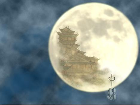 Полнолуние в Китае и лунный заяц