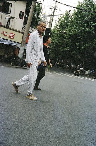 Пижамы в Китае / Магазета