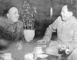 1950 г., чай с Мао Цзэдуном