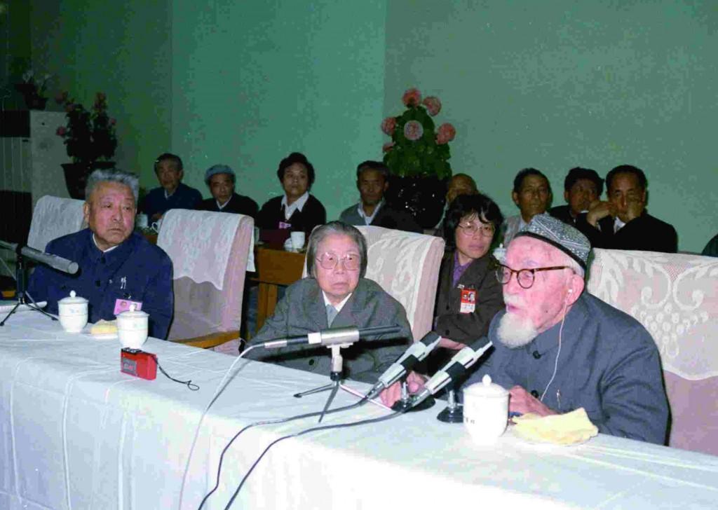 Бао Эрхань / 1988 г., на встрече