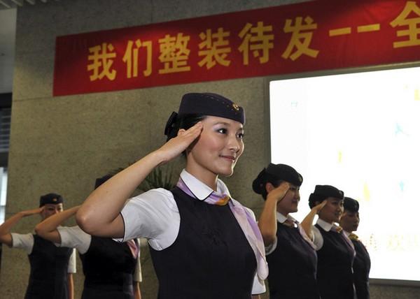 Проводницы в китайских поездах