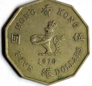 5 долларов 1978