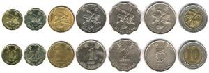Современные монеты