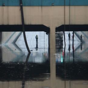 Проливные дожди в Чэнду устроили потоп