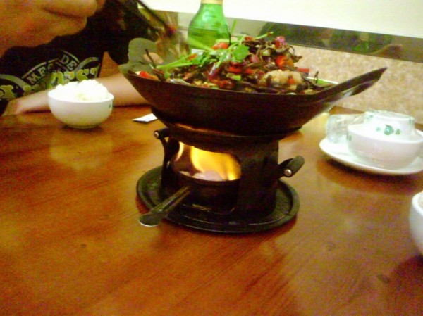 Первая китайская еда ^^