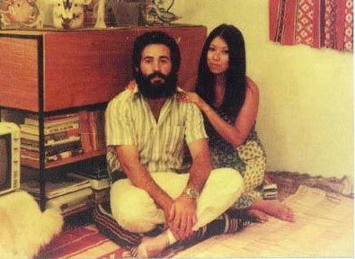 Сань Мао с мужем Хосе