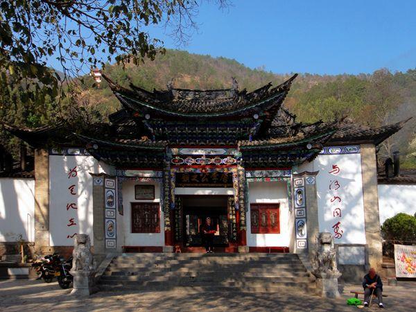 Храм в честь генерала-захватчика Ли Ми