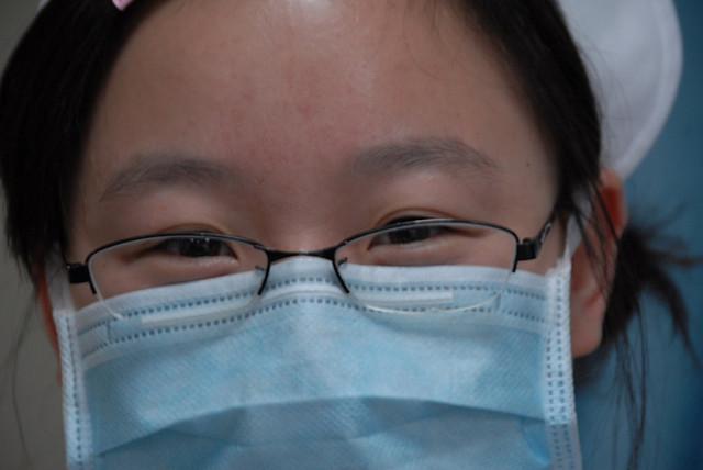 Китайская медсестра / Гланды. Спасай, Родина. - Магазета