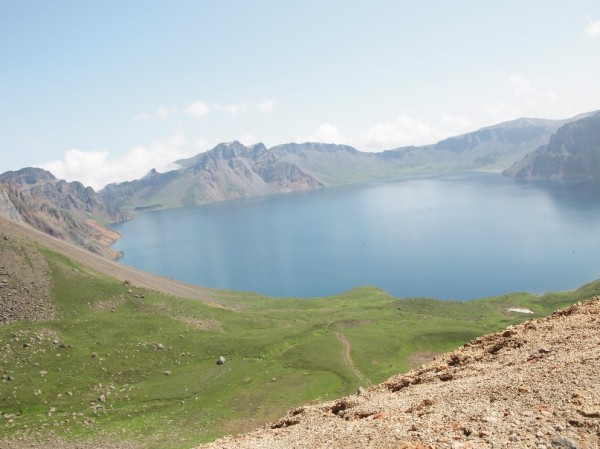 Небесное озеро / Чанбайшань. Западный склон - Магазета